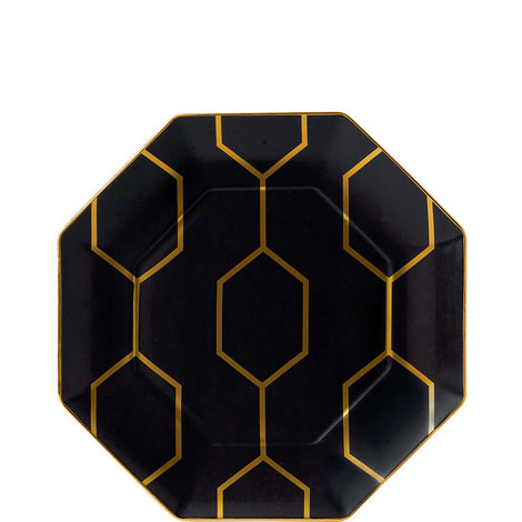 Arris Octagonal Side Plate 23cm, ${color}