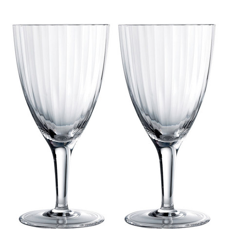 2 Jasper Conran Tisbury Water Glasses, ${color}