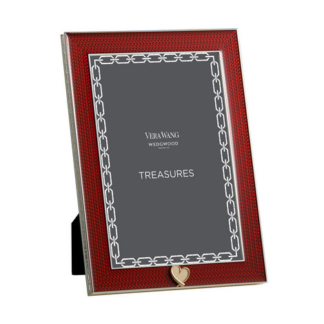 VERA WANG With Love Heart Frame 4x6, ${color}