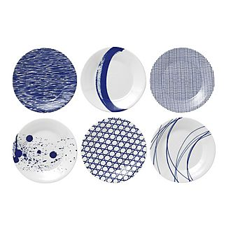 Set of 6 Pacific Side Plates