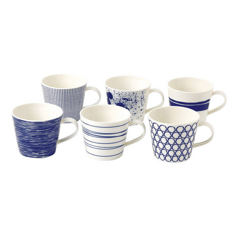 Set of 6 Pacific Mugs, ${color}