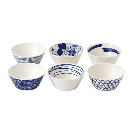 Set of 6 Pacific Bowls, ${color}