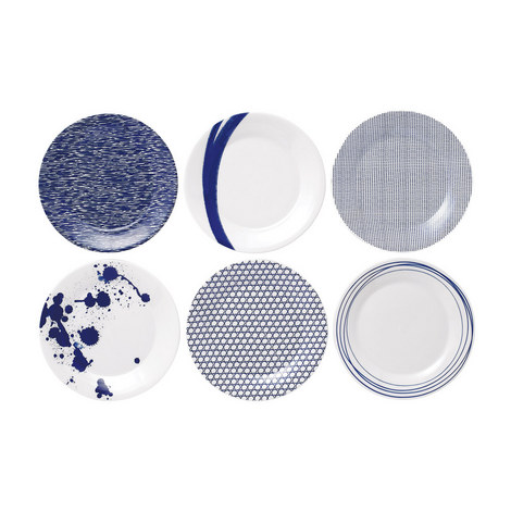 Set of 6 Pacific Plates, ${color}