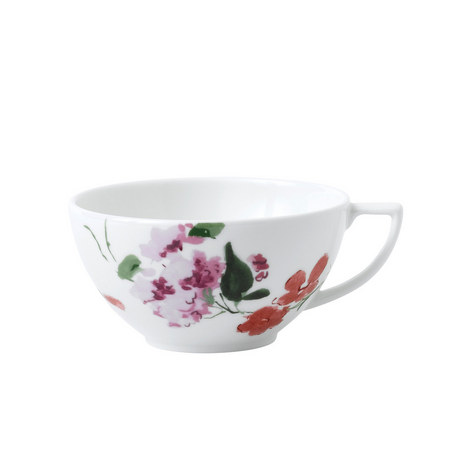 Jasper Conran Floral Tea Cup, ${color}