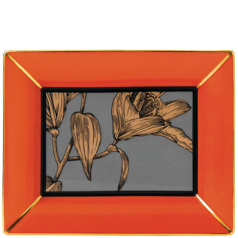 Vibrance Giftware Rectangle Tray, ${color}
