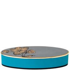 Vibrance Giftware Oval Lidded Box