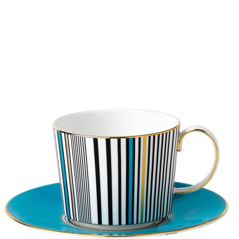 Vibrance Teacup & Saucer, ${color}