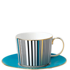 Vibrance Teacup & Saucer