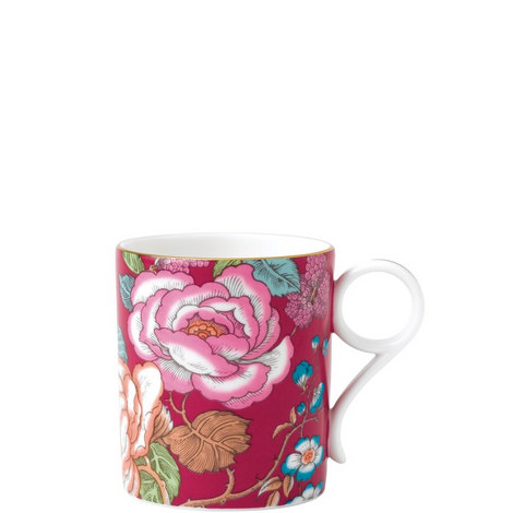 Tea Garden Raspberry Mug, ${color}