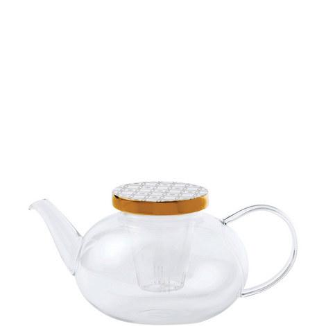 Tea Garden Glass Teapot, ${color}