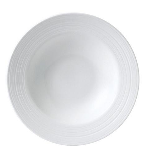 Jasper Conran Strata Rim Pasta Bowl 26cm, ${color}