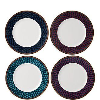 Byzance Set of 4 Plates 20cm
