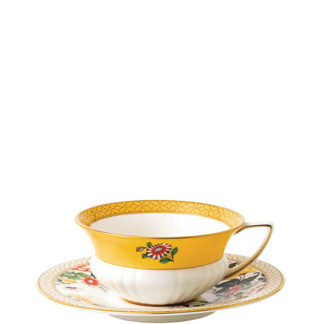 Wonderlust Primrose Teacup and Saucer, ${color}