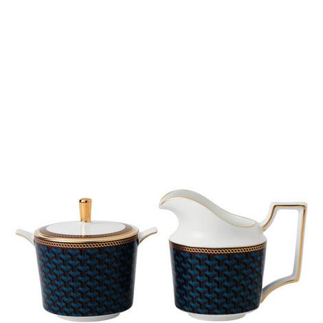 Byzance Cream Jug and Sugar Bowl, ${color}