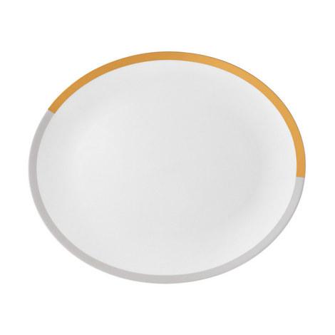 Vera Wang Castillon Oval Dish 33cm, ${color}
