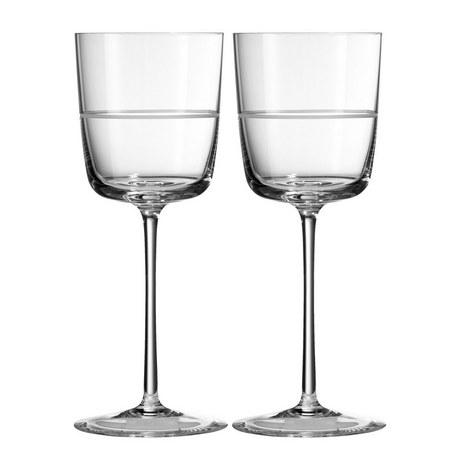 VW Bande Wine Glasses, ${color}