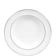Blanc sur Blanc Soup Plate 23cm
