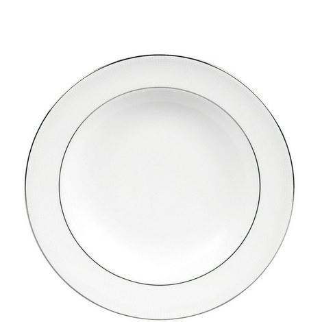 Blanc sur Blanc Soup Plate 23cm, ${color}