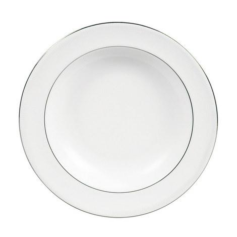 VW Blanc sur Blanc Pasta Plate 28cm, ${color}