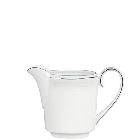Blanc sur Blanc Cream Jug 0.4pt, ${color}