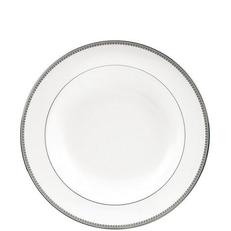 Vera Wang Lace Platinum Soup Plate 23cm, ${color}
