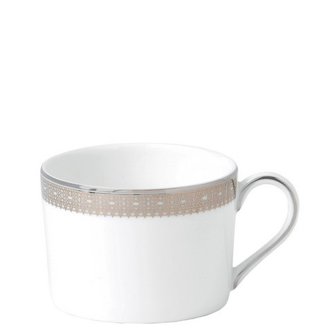 Vera Wang Lace Platinum Teacup 0.15L, ${color}
