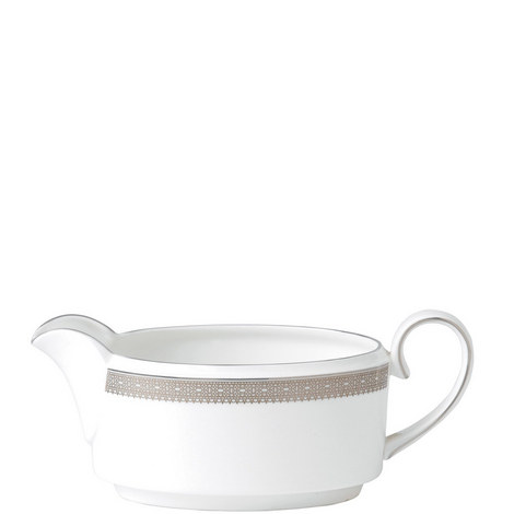 Vera Wang Lace Platinum Sauce Boat 0.35L, ${color}