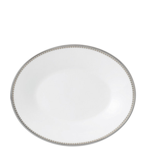 Vera Wang Lace Platinum Sauce Boat Stand, ${color}