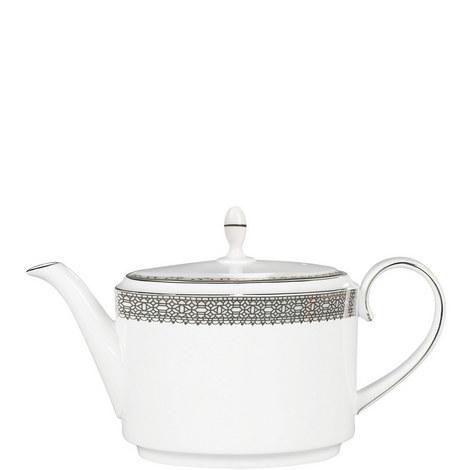 Vera Wang Lace Platinum Teapot 2pt, ${color}