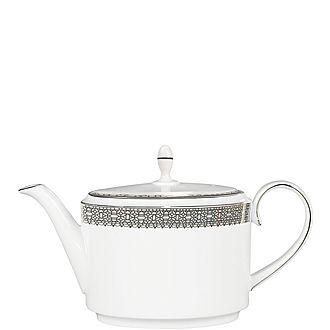 Vera Wang Lace Platinum Teapot 2pt