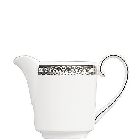 Vera Wang Lace Platinum Cream Jug 0.4pt, ${color}
