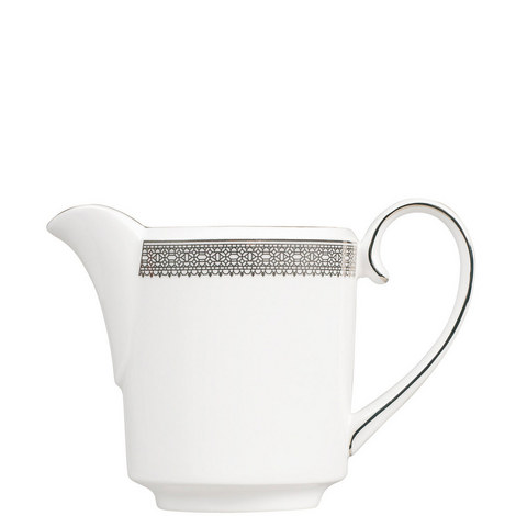 Vera Wang Lace Platinum Cream Jug 0.4pt, ${color}