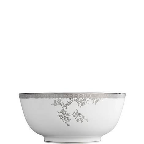 Lace Platinum Salad Bowl 25.3cm, ${color}