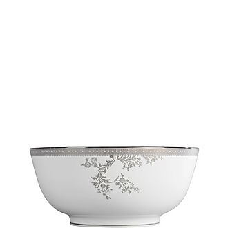 Lace Platinum Salad Bowl 25.3cm