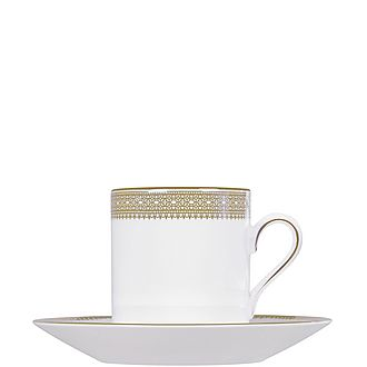 Vera Wang Lace Coffee Cup Saucer