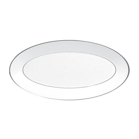 Jasper Conran Platinum Serving Platter 45cm, ${color}