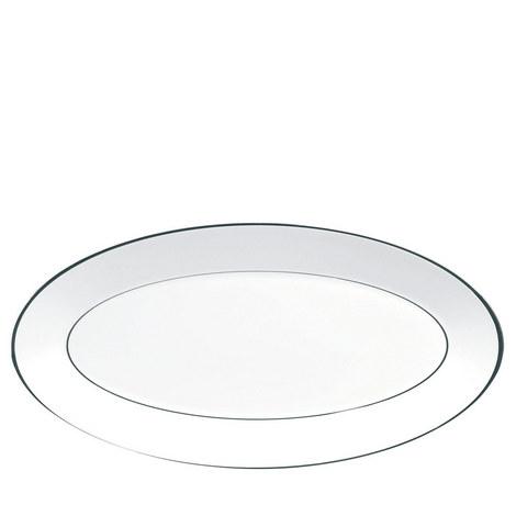 Jasper Conran Platinum Serving Platter 39cm, ${color}