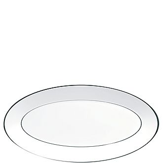 Jasper Conran Platinum Serving Platter 39cm