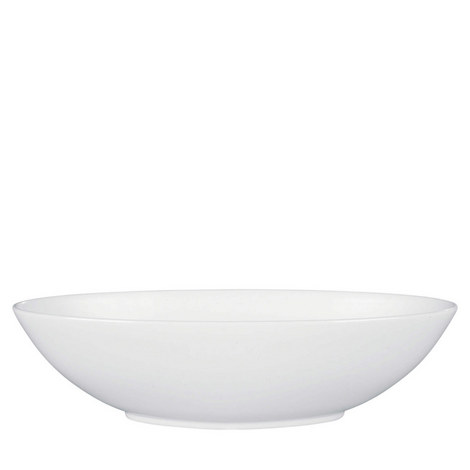 Jasper Conran Platinum Serving Bowl, ${color}