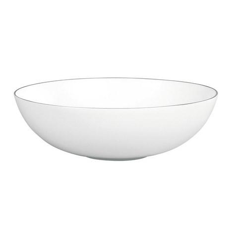 Jasper Conran Platinum Serving Bowl 30cm, ${color}