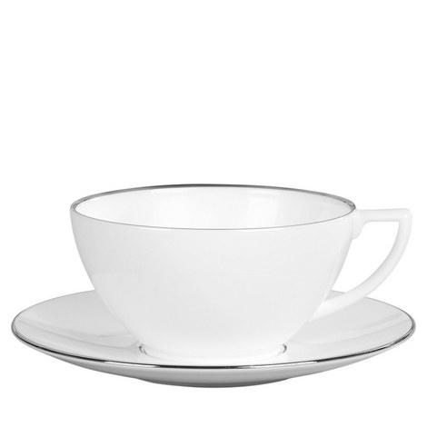 Jasper Conran Platinum Teacup, ${color}