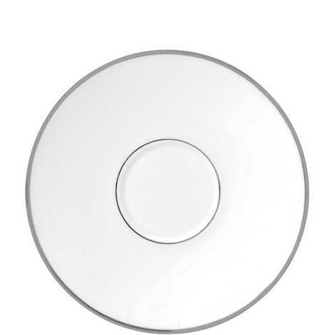Jasper Conran Platinum Tea Saucer, ${color}