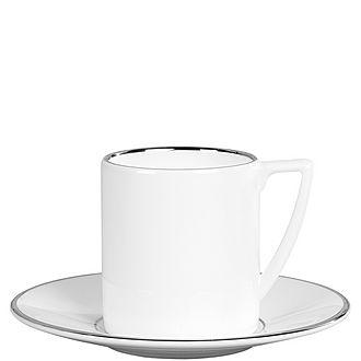 Jasper Conran Platinum Espresso Saucer