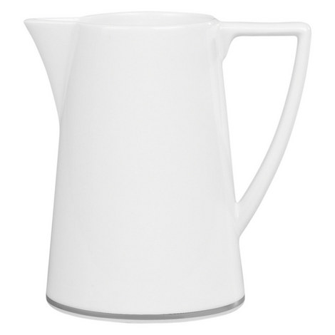 Jasper Conran Platinum Cream Jug, ${color}