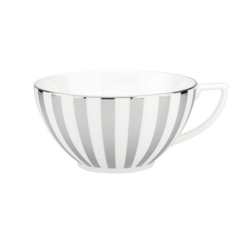 Jasper Conran Platinum Tea Cup 250ml, ${color}
