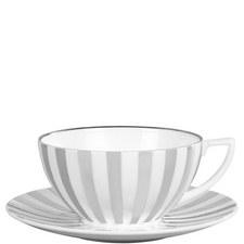 Jasper Conran Platinum Tea Saucer