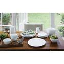 Jasper Conran White Oval Platter Small, ${color}