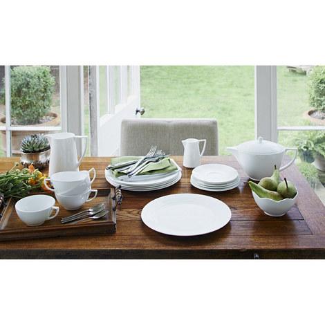 White Open Serving Bowl, ${color}