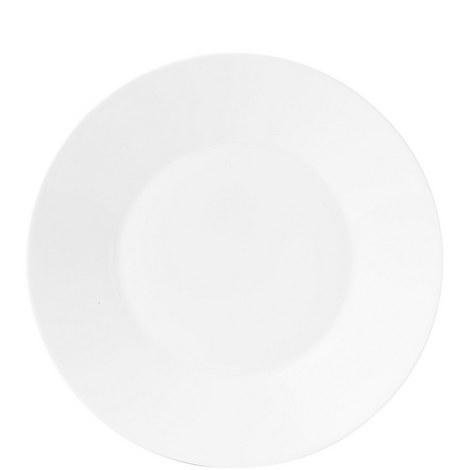 Jasper Conran White Plate 23cm, ${color}