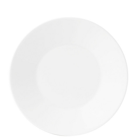White Sauce Jug Stand/Plate 18cm, ${color}